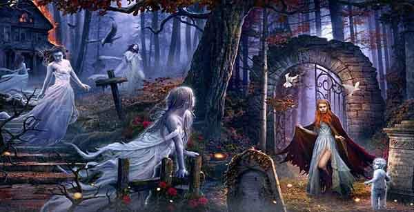 Мистические истории про призраков