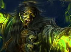 Дух ведьмы