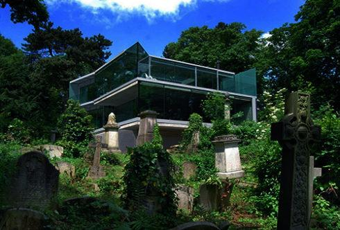 Дом построенный на кладбище